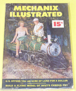 Mechanix Illustrated 1952 Baby Railroad Magazine Nice See | eBay