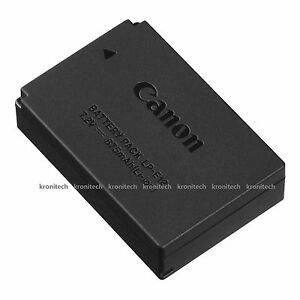 Brand New Oem Lp E12 Battery For Canon Eos 100d Eos M