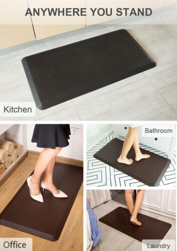 Anti Fatigue Comfort Kitchen Mat Non-Slip Standing Desk Mat Durable for Office