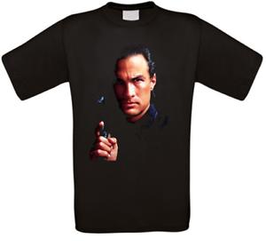 Steven Seagal Cult T-Shirt all Sizes New