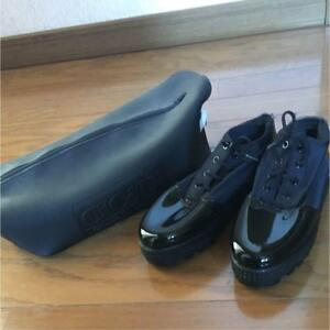Casual F Brand 36 Shoes 1993 Formal s Black Sneakers Ghostin Rare Stretchy Men OwpCRxgqcw