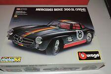 4  Bburago 1:18 Mercedes-Benz 300SL 1954 / OVP 7013  fertig gebauter Bausatz