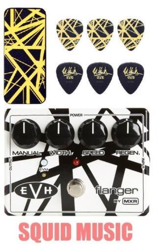 MXR EVH-117 Eddie Van Halen Flanger EVH117 EVH Black /& Yellow Stripes Pick Tin
