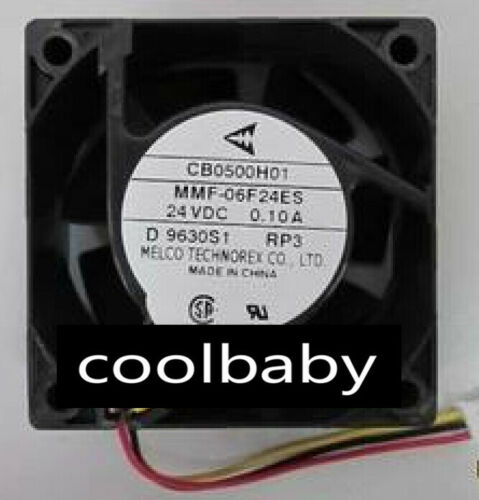 MITSUBISHI MR-J3 Fan CB0500H01 MMF-06F24ES-RP3 60*60*25mm