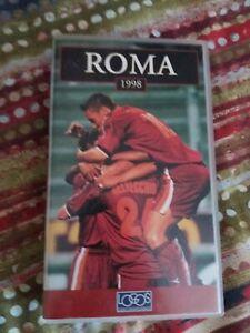 VENDO-VHS-ROMA-1998-ottime-condizioni