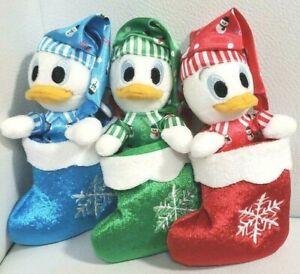Tokyo-Disney-Resort-Christmas-Huey-Dewey-and-Louie-Ornament-Plush-Doll-2016