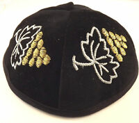Yarmulke Kippah Jewish Kippa Hat Kipa Cap Cupples Knitted Suede Velvet Or Satin