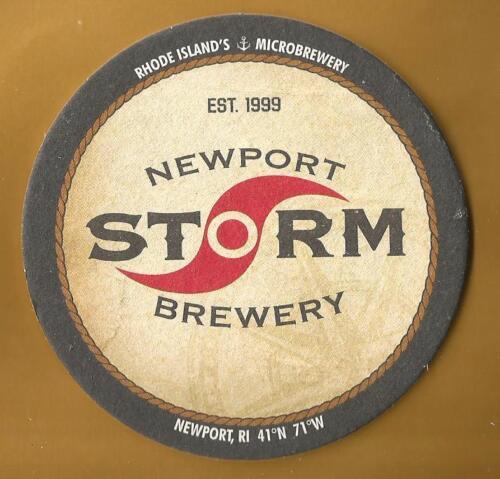 Having Fun Beer Coasters 16 Newport Storm Brewery Making Beer