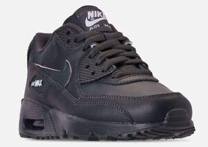san francisco 88ba1 3a722 Image is loading Nike-Big-Kids-039-Air-Max-90-Leather-