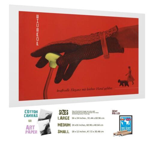 Sport Art Print Porsche Poster