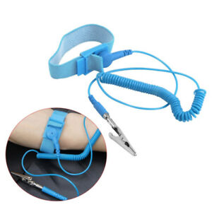 Power Tool Accessories Hand & Power Tool Accessories Friendly New Anti Static Antistatic Esd Adjustable Wrist Strap Band Blue Free Shipping
