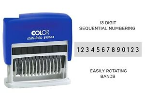 Colop-S120-13-13-Digit-Sequential-Numbering-Stamp-Self-Inking-Rubber-Stamp