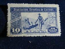 Spain, 10 Cts., Asociacion Benetico De Correos, Used.