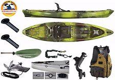 Perception Pescador Pro 120 - Kayak City Angler Package - Moss Camo