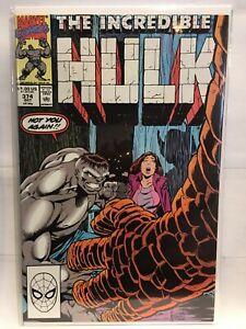 Incredible-Hulk-Vol-1-374-VF-1st-Print-Marvel-Comics