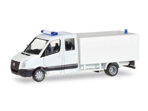 Herpa 013185 H0 LKW MiniKit VW Crafter mit Kofferaufbau