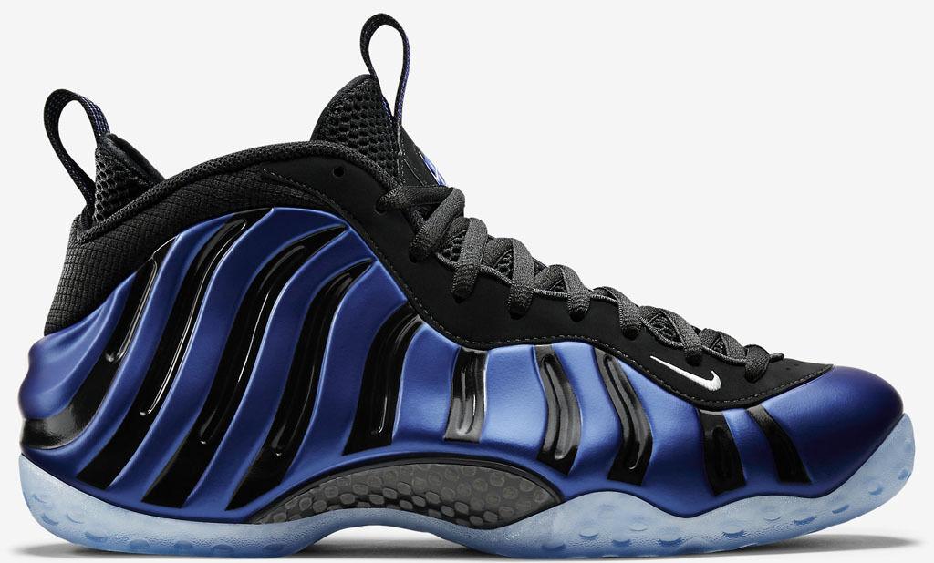Nike Foamposite One Sharpie Blue Nero Size 9. 679085-500 jordan penny