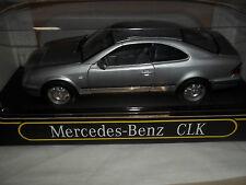 Anson 30330 Mercedes Benz CLK Silver 1/18 Mint & Boxed