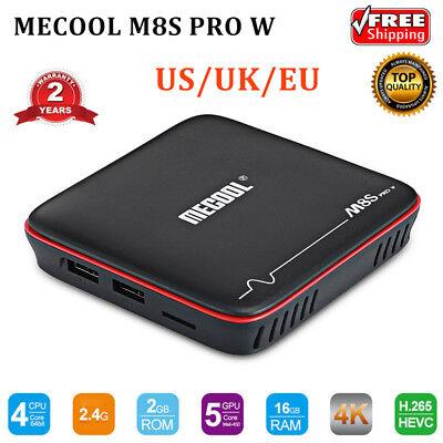 MECOOL M8S PRO W Android 7.1 TV BOX 2G+16G S905W Quad Core 3D WiFi 4K HD Media