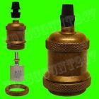 CERTIFIÉ ES e27 edison vintage antique Ampoule Lampe Lumière Support ajustement