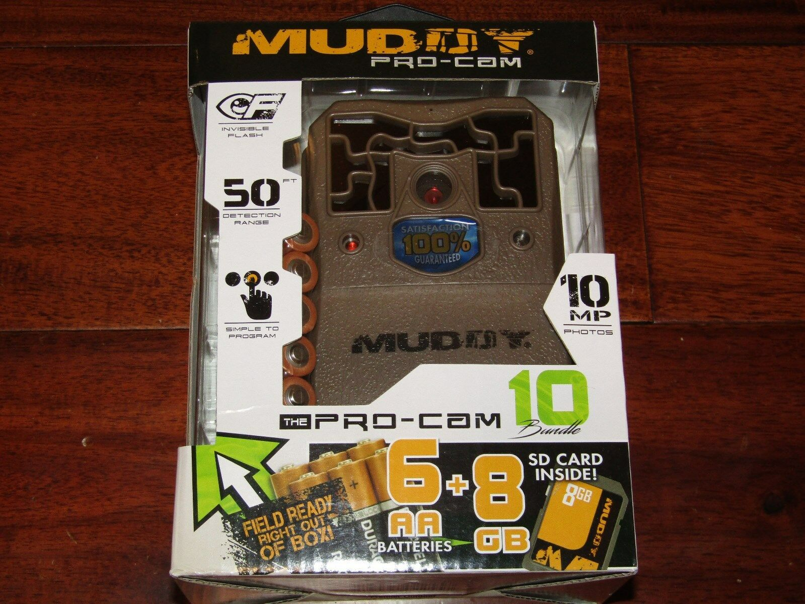 MUDDY MTC100K PRO CAM 10MP BUNDLE W   6 AA BATTERIES & 8GB MEMORY CARD NEW  with 100% quality and %100 service