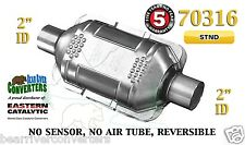 "Eastern Universal Catalytic Converter Standard Catalyst 2"" Pipe 10"" Body 70316"