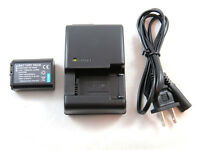Charger And Battery For Sony Alpha Nex And Slt Cameras Bc-vw1 Np-fw50 W Series