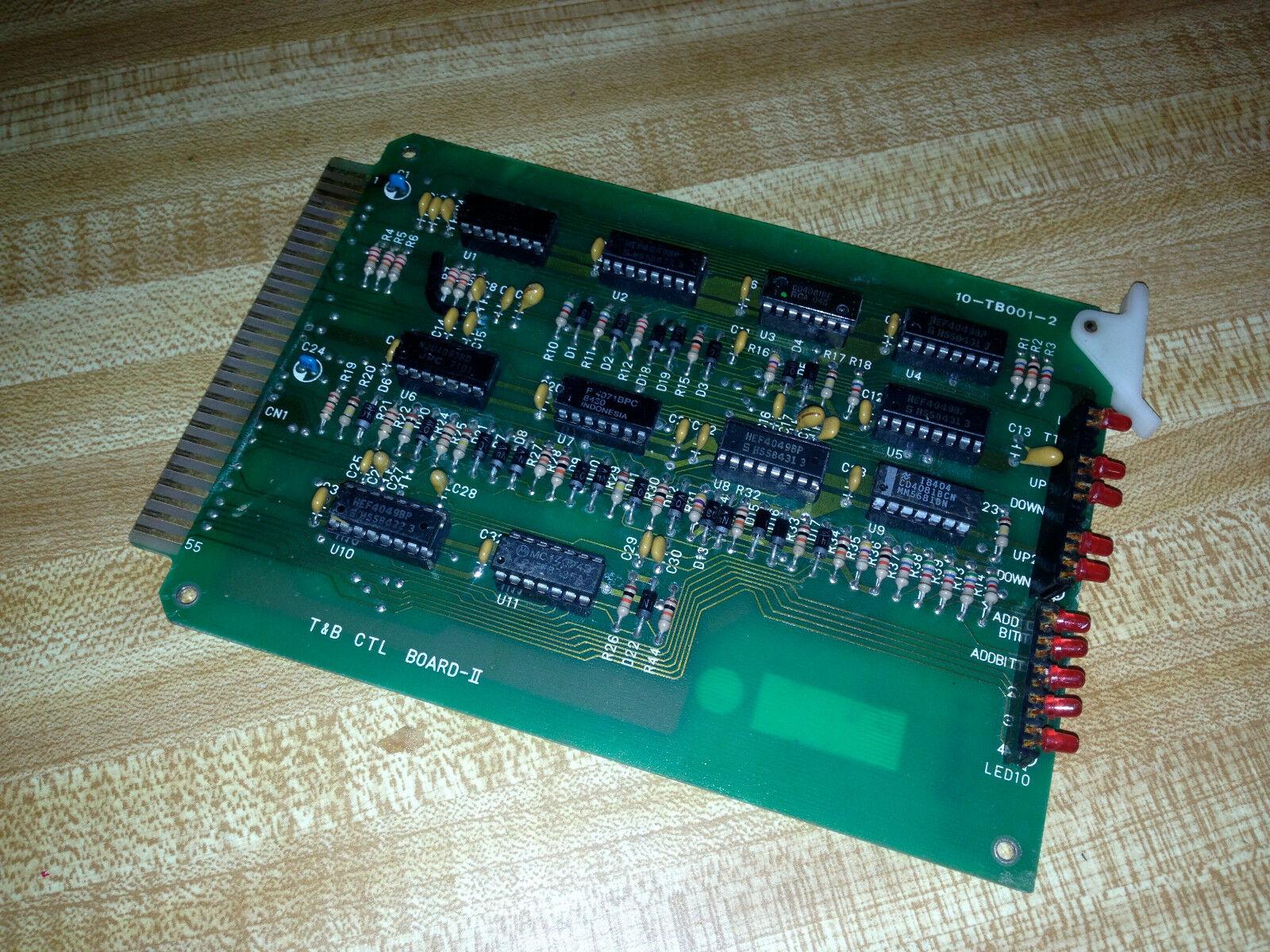 T&B CTL CIRCUIT BOARD II CARD 10-TB001-2 10TB0012