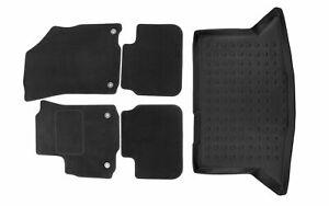 Fußmatten Kofferraumwanne Set für Suzuki SX4 2006-2011 Schrägheck