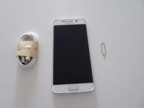 1 of 1 - AU STOCK - Samsung  Galaxy S6 edge SM-G925I - 32GB - White Pearl - Broken screen