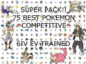 75 Shiny Pokemon 6IV Competitive Team Strategy Guide ...