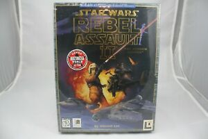 Star-Wars-Rebel-Assault-2-The-Hidden-Empire-PC-Game-By-Vincent-Lee-New-Mint