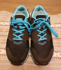 Blue/Silver Walking Sneakers Shoes