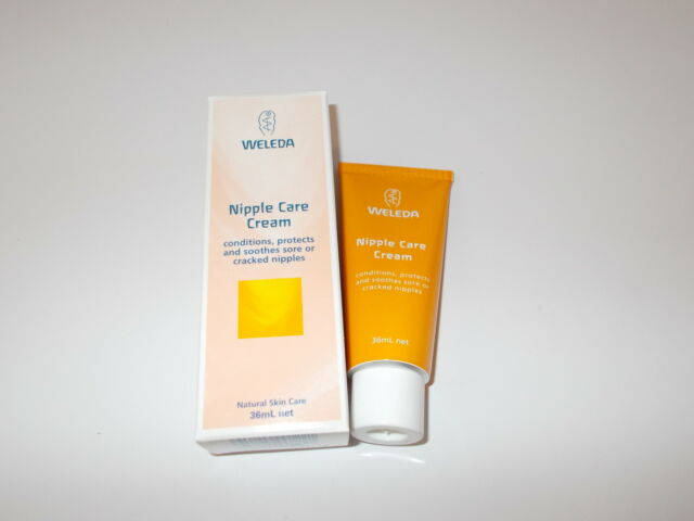 WELEDA MOTHER Nipple Care Cream 36ml ( Tones & Soothes Cracked Nipples)
