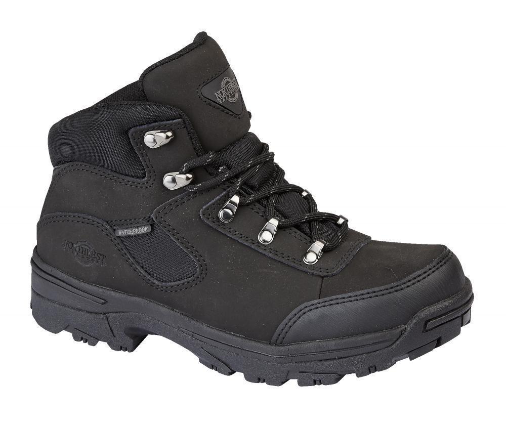 Mujer Northwest Territory STORM De Cuero Caminar Botas Impermeables De STORM Invierno GB e456fe
