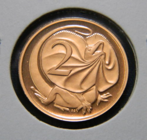 1986 2 Cent proof coin Only 67,000 made Not Issued for Circulation Very Scarce