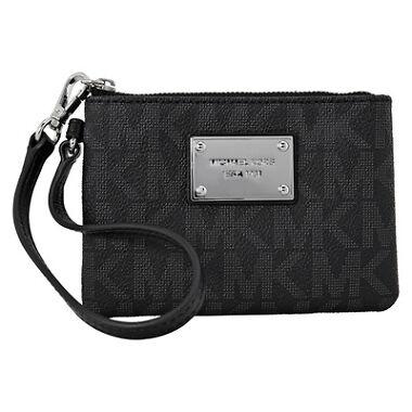 Michael Kors PVC Wristlet Handbag