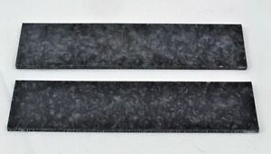 KIRINITE-BLACK-ICE-1-4-034-Scales-for-Knife-Making-Woodworking-Bushcraft-Inlays