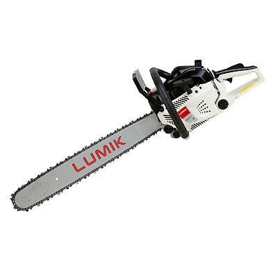 "LUMIK 82cc 24"" Commercial Chainsaw"