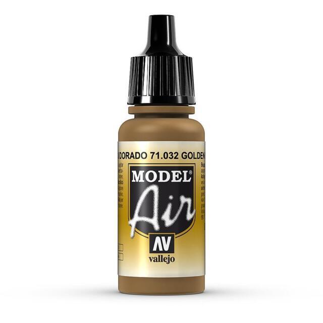 Vallejo Model Air Color 71.032 - Goldbraun - 17 Ml (16,18€/100Ml)