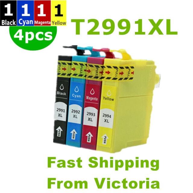 4x ink cartridges T29XL 29 XL T2991 For Epson XP 235 245 332 335 XP 432 435 442