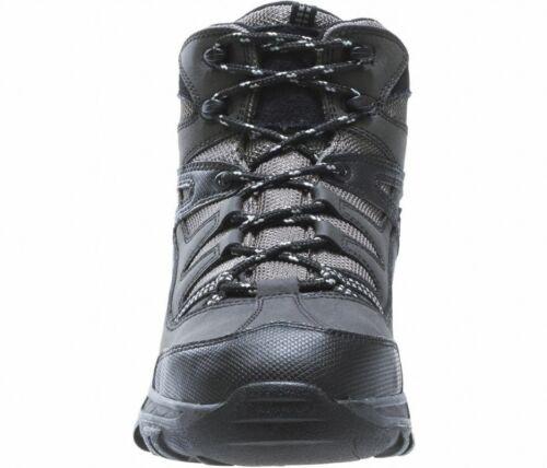Wolverine Hiking Waterproof Steel Toe Work Boot W04117 Bennett Black//Gray ESD