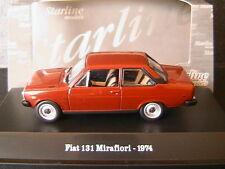 FIAT 131 MIRAFIORI 1974 RED OSSIDO STARLINE 511148 1/43 3 TURER THREE DOORS