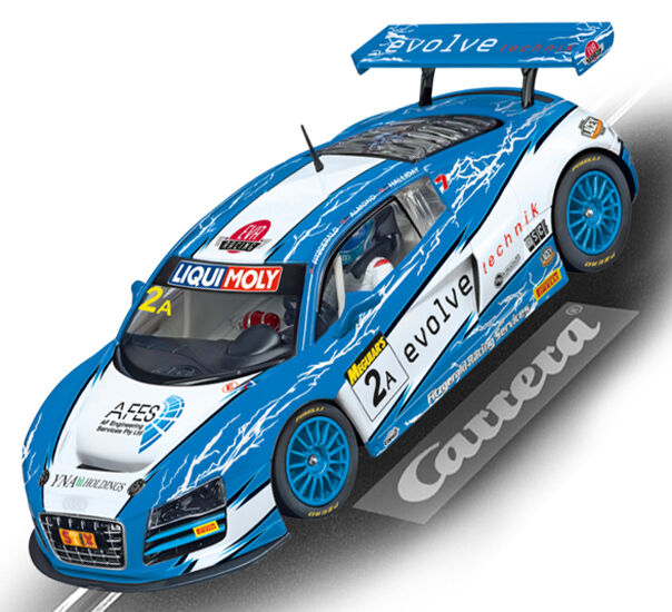 Carrera 23840 Digital Audi R8 LMS Fitzgerald Racing Slot Car 1 24 Scale