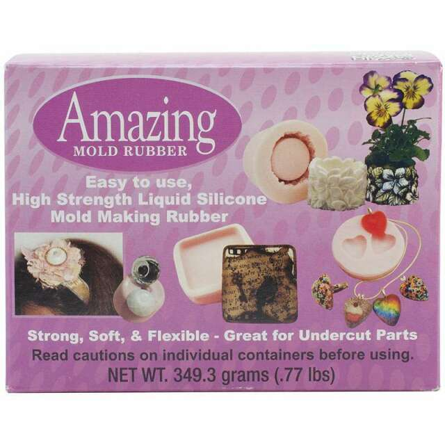 Amazing Mold Rubber Kit .77lb   616932078354