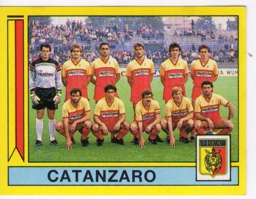 figurina CALCIATORI PANINI 1988//89 NEW numero 408 CATANZARO SQUADRA