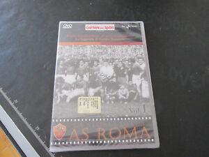 LA STORIA DELLA A.S. ROMA Vol. I 1927-1942 - DVD ORIGINALE NUOVO SIGILLATO
