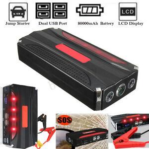 80000mAh-AUTO-AVVIATORE-Jump-Starter-Booster-600A-Caricabatterie-4-USB-Emergenza