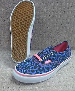 46f74f44ce5 La imagen se está cargando Vans-Hombre-Mujer-Zapatos-034-Autentico-034- Leopardo-