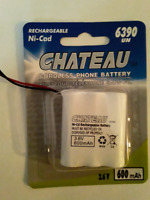 NEW Chateau Cordless Phone Battery 2.4V #6390 $2 ONLY! Mississauga / Peel Region Toronto (GTA) Preview